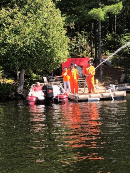 flotilla Haarmeyers take the cake in a burst of orange and activity